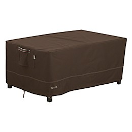 Classic Accessories® Madrona RainProof Coffee Table Cover in Dark Cocoa