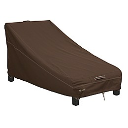 Classic Accessories® Madrona RainProof Patio Day Chaise Lounge Chair Cover in Dark Cocoa