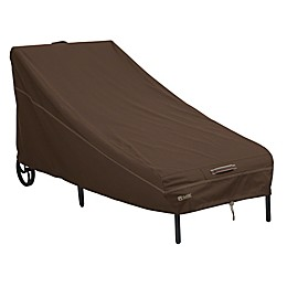 Classic Accessories® Madrona RainProof Patio Chaise Lounge Chair Cover in Dark Cocoa