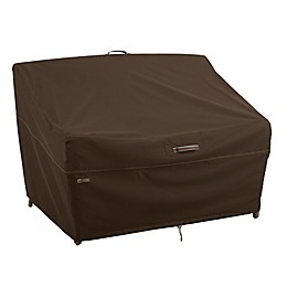 Classic Accessories® Madrona RainProof Patio Loveseat Cover in Dark Cocoa