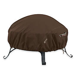 Classic Accessories® Madrona RainProof Small Round Fire Pit Cover in Dark Cocoa