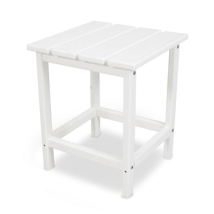 Alternate image 1 for POLYWOOD® Long Island 18-Inch Side Table in White