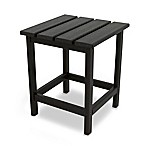 POLYWOOD® Long Island 18-Inch Side Table in Black