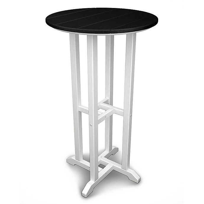 Alternate image 1 for POLYWOOD® Contempo 24-Inch Round Bar Table