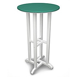 POLYWOOD® Contempo 24-Inch Round Bar Table