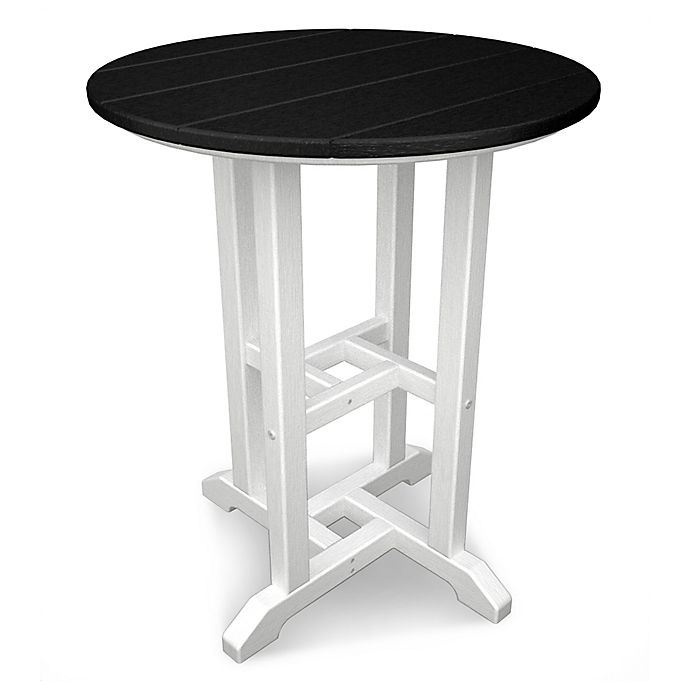 Alternate image 1 for POLYWOOD® Contempo 24-Inch Round Dining Table