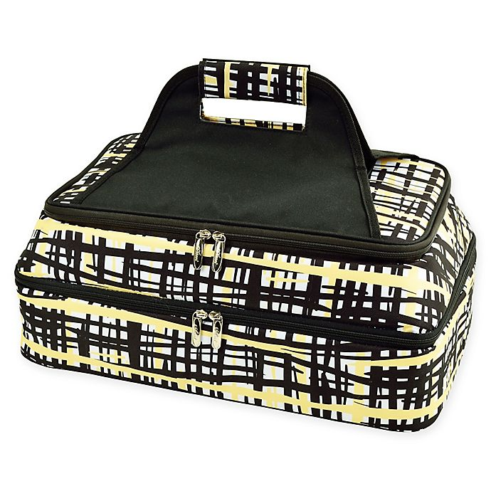 Alternate image 1 for Picnic At Ascot Two Layer Hot/Cold Thermal Casserole Carrier