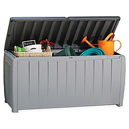Keter Novel 90-Gallon Plastick Storage Deck Box