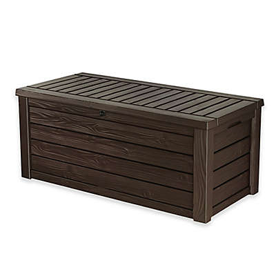 Keter Westwood 150-Gallon Deck Box in Brown
