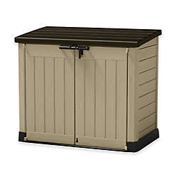 Keter SIO Horizontal Storage Shed in Beige
