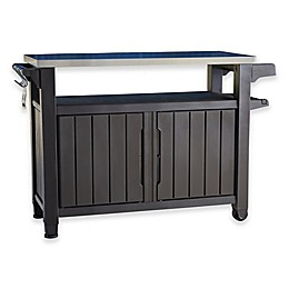 Keter Unity All-Weather Outdoor BBQ Entertainment Storage Station