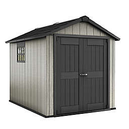 Keter Oakland Shed in Grey