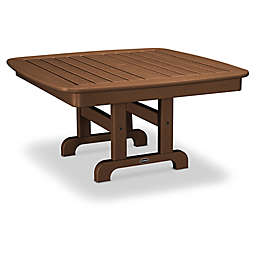 POLYWOOD® Nautical 37-Inch Square Conversation Table