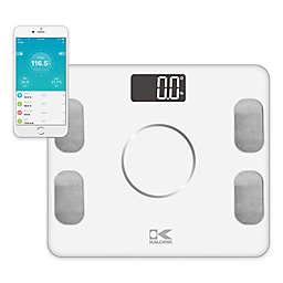 Kalorik Electronic Body Fat Scale with Body Analysis in White