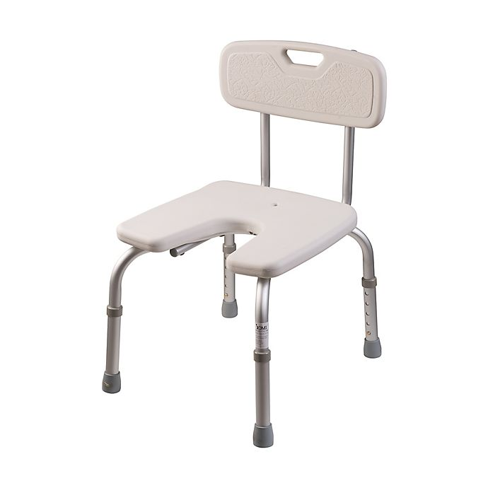 Alternate image 1 for DMI U-Shape Bath and Shower Chair in White