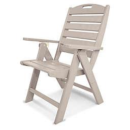POLYWOOD® Nautical Highback Folding Chair