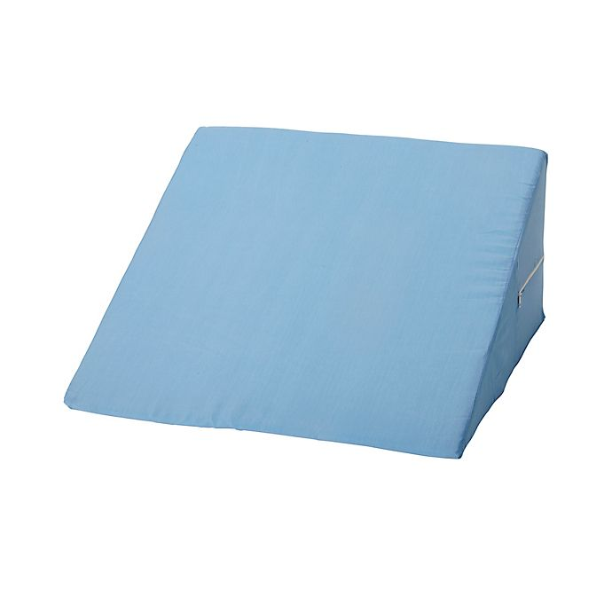 Alternate image 1 for Foam Pillow Wedge in Blue