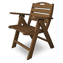 POLYWOOD® Nautical Lowback Folding Chair