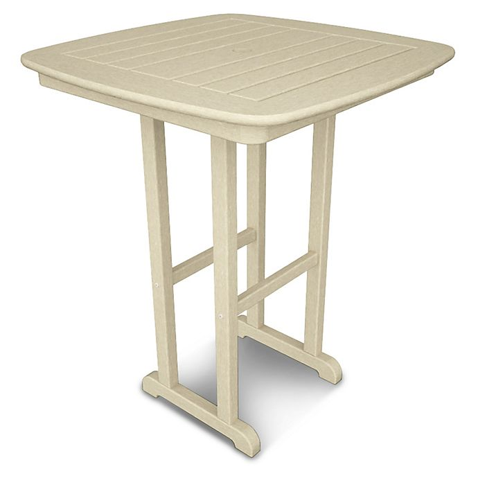 Alternate image 1 for POLYWOOD® Nautical 31-Inch Square Counter Table