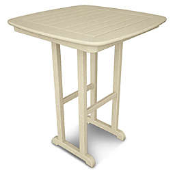 POLYWOOD® Nautical 31-Inch Square Counter Table