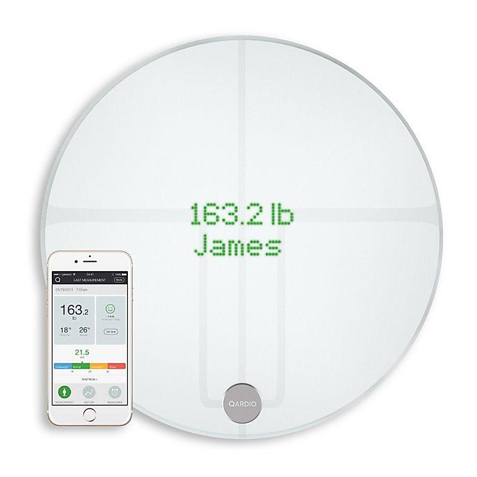 Alternate image 1 for Qardio QardioBase 2 Smart Scale Body Analyzer in Artic White