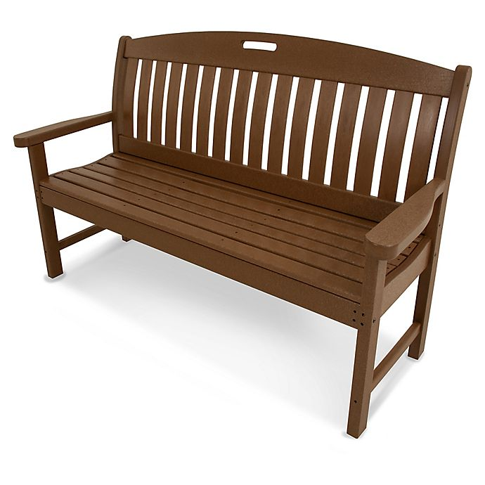 Alternate image 1 for POLYWOOD® Nautical 60-Inch Bench