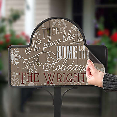 No Place Like Home Magnetic Garden Sign
