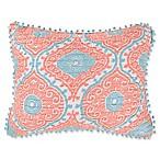 Levtex Home Flamingo Bay Standard Pillow Sham in Pink/Blue
