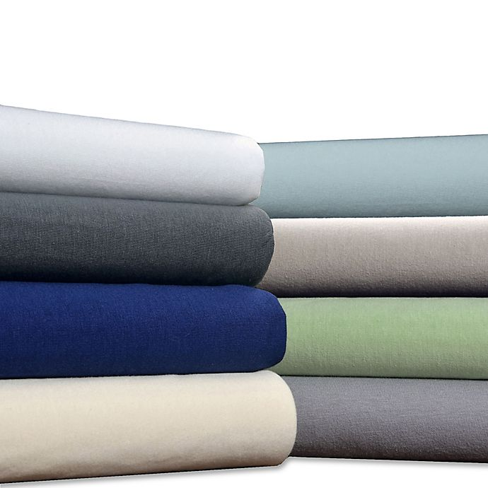 ef2c87cf8c6 Brielle Jersey Knit Cotton Sheet Set | Bed Bath & Beyond