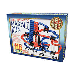 House of Marbles 118-Piece Electromatic Marble Run