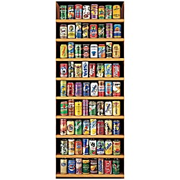 Educa Soft Drink Cans 2000-Piece Jigsaw Puzzle