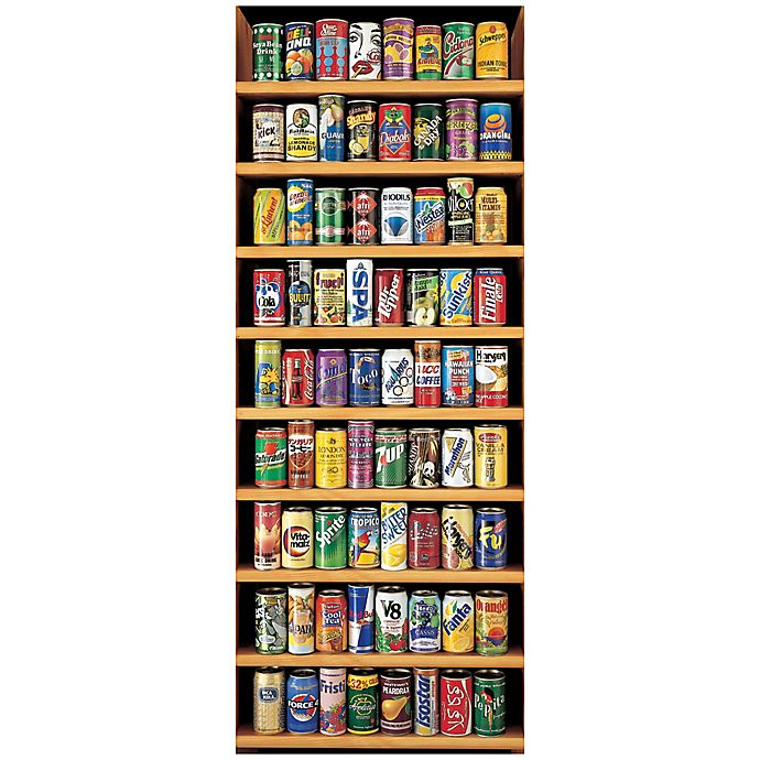 Alternate image 1 for Educa Soft Drink Cans 2000-Piece Jigsaw Puzzle