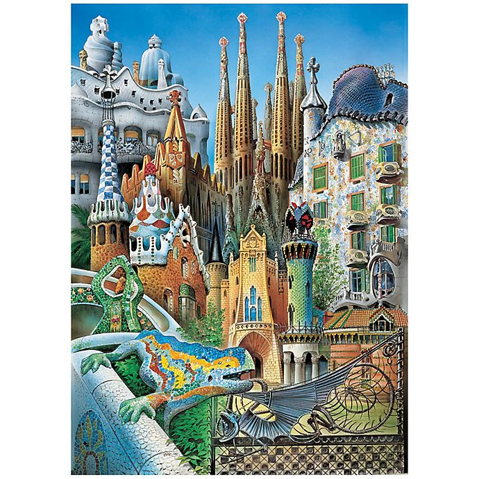 Alternate image 1 for Educa Mini Collage 1000-Piece Jigsaw Puzzle