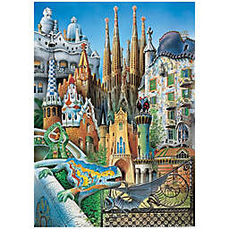 Educa Mini Collage 1000-Piece Jigsaw Puzzle