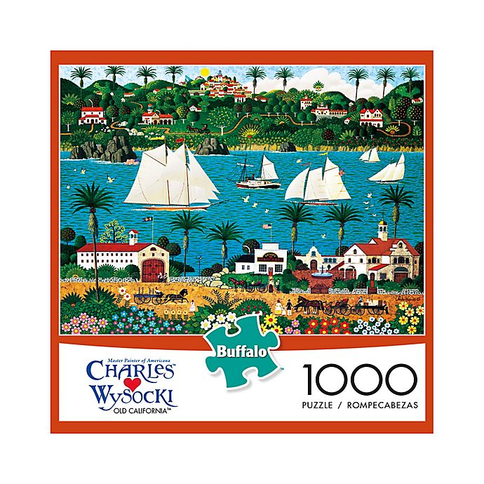 Alternate image 1 for Buffalo Games™ 1000-Piece Charles Wysocki Old California Puzzle