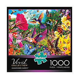 Buffalo Games™ 1000-Piece Vivid Collection Hummingbird Garden Puzzle