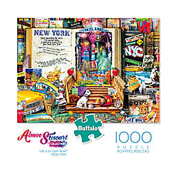 Buffalo Games™ 1000-Piece Aimee Stewart Life is an Open Book Big Apple Puzzle