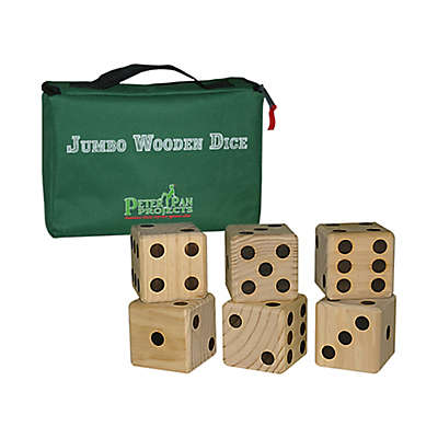 Maranda Enterprises Jumbo Wooden Dice