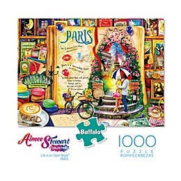 Buffalo Games™ 1000-Piece Aimee Stewart Life is an Open Book Paris Puzzle