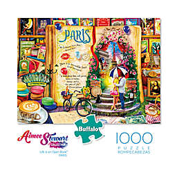 Buffalo Games™ 1000-Piece Aimee Stewart Life is an Open Book Paris Puzzle