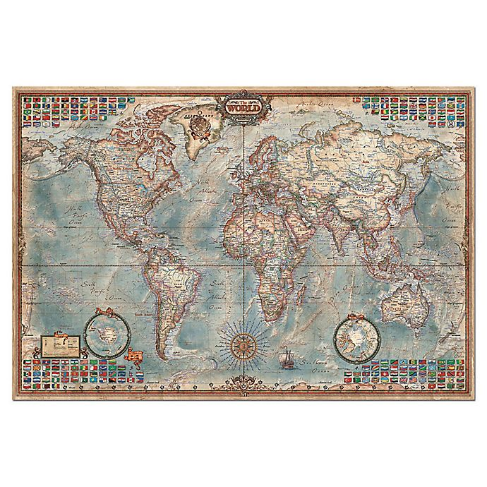 Alternate image 1 for Educa The World 4000-Piece Jigsaw Puzzle