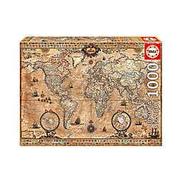 Educa Antique World Map 1000-Piece Jigsaw Puzzle