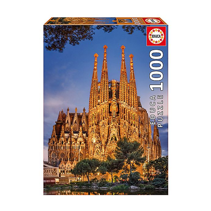 Alternate image 1 for Educa Sagrada Familia 1000-Piece Jigsaw Puzzle