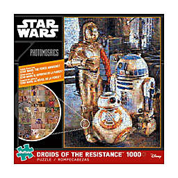 Buffalo Games™ 1000-Piece Photomosaics Star Wars™ Droids of the Resistance Puzzle