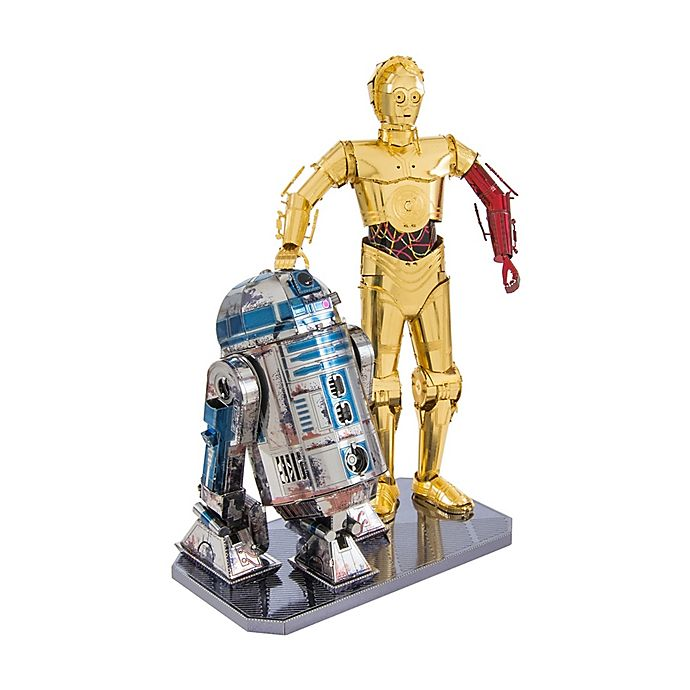Alternate image 1 for Fascinations Metal Earth® Star Wars™ C-3PO and R2-D2 3D Metal Model Kit