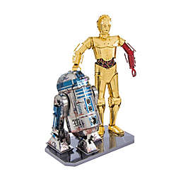 Fascinations Metal Earth® Star Wars™ C-3PO and R2-D2 3D Metal Model Kit