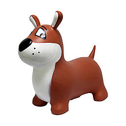 MegaFun USA JumPets Bouncer Buster the Dog in Brown
