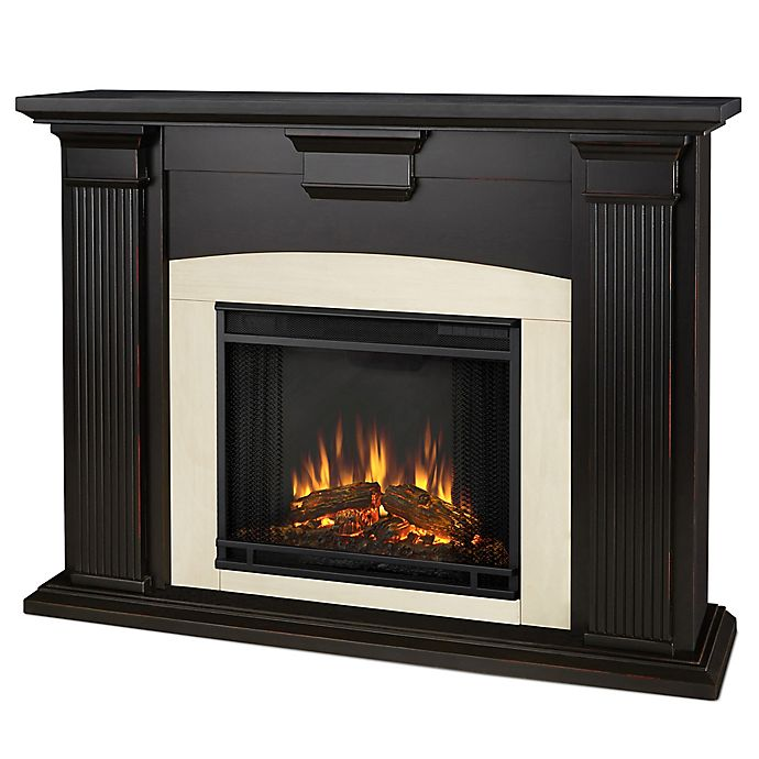 Alternate image 1 for Real Flame® Adelaide Electric Fireplace in Blackwash