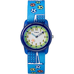 Timex® Time Machines Children's 28mm Soccer Watch in Blue