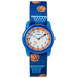 Timex® Time Machines Children's 28mm Basketball Watch in Blue